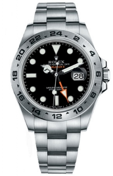 Rolex Explorer II 42mm Mens watch, model number - 216570 Black Dial, discount price of £5,530.00 from The Watch Source