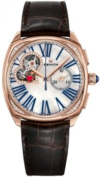 Zenith Star Open Ladies watch, model number - 22.1925.4062/80.c725, discount price of £15,330.00 from The Watch Source