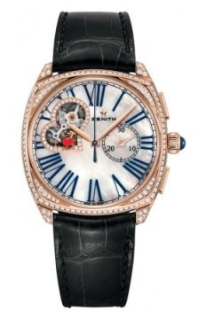 Zenith Star Open Ladies watch, model number - 22.1927.4062/80.c714, discount price of £21,420.00 from The Watch Source