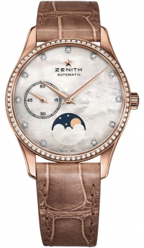 Zenith Elite Ultra Thin Lady Moonphase 33mm Ladies watch, model number - 22.2310.692/81.c709, discount price of £8,465.00 from The Watch Source