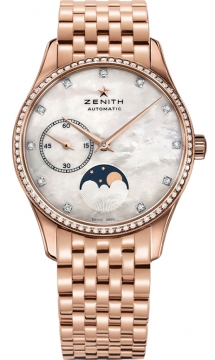 Zenith Elite Ultra Thin Lady Moonphase 33mm Ladies watch, model number - 22.2310.692/81.m2310, discount price of £13,545.00 from The Watch Source