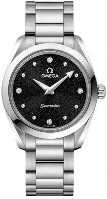 Buy this new Omega Aqua Terra 150m Quartz 28mm 220.10.28.60.51.001 ladies watch for the discount price of £1,872.00. UK Retailer.