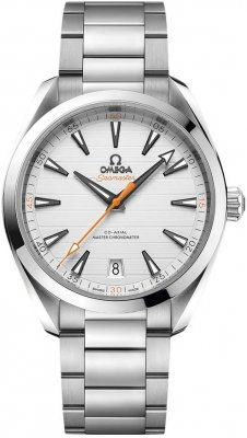 Buy this new Omega Aqua Terra 150M Co-Axial Master Chronometer 41mm 220.10.41.21.02.001 mens watch for the discount price of £3,672.00. UK Retailer.