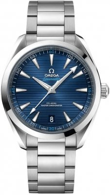 Buy this new Omega Aqua Terra 150M Co-Axial Master Chronometer 41mm 220.10.41.21.03.001 mens watch for the discount price of £3,672.00. UK Retailer.