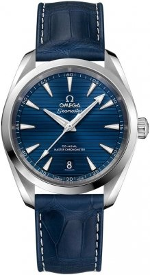 Buy this new Omega Aqua Terra 150M Co-Axial Master Chronometer 38mm 220.13.38.20.03.001 mens watch for the discount price of £3,600.00. UK Retailer.
