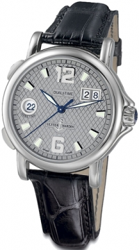Ulysse Nardin GMT Big Date 40mm Mens watch, model number - 223-88/61, discount price of £3,140.00 from The Watch Source