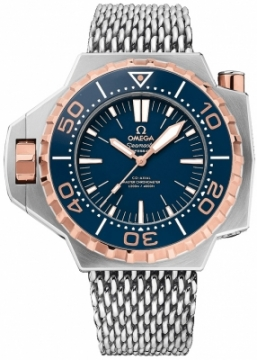 Buy this new Omega Seamaster PloProf 1200m 227.60.55.21.03.001 mens watch for the discount price of £10,800.00. UK Retailer.