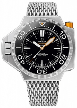 Buy this new Omega Seamaster PloProf 1200m 227.90.55.21.01.001 mens watch for the discount price of £7,560.00. UK Retailer.