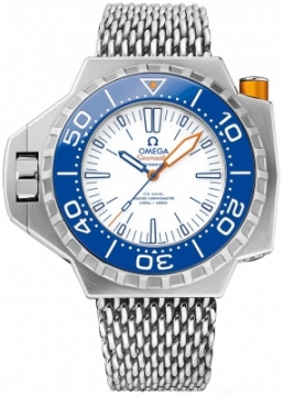 Buy this new Omega Seamaster PloProf 1200m 227.90.55.21.04.001 mens watch for the discount price of £7,392.00. UK Retailer.