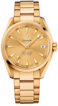 Buy this new Omega Aqua Terra 150m Master Co-Axial 38.5mm 231.50.39.21.08.001 mens watch for the discount price of £19,368.00. UK Retailer.