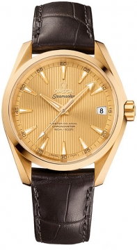 Buy this new Omega Aqua Terra 150m Master Co-Axial 38.5mm 231.53.39.21.08.001 mens watch for the discount price of £11,232.00. UK Retailer.