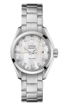 Omega Aqua Terra Quartz 30mm Ladies watch, model number - 231.10.30.60.55.001, discount price of £2,225.00 from The Watch Source