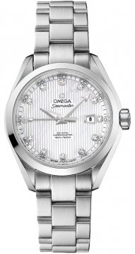 Omega Aqua Terra Ladies Automatic 34mm Ladies watch, model number - 231.10.34.20.55.001, discount price of £3,805.00 from The Watch Source
