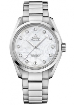 Buy this new Omega Aqua Terra 150m Master Co-Axial 38.5mm 231.10.39.21.55.002 ladies watch for the discount price of £4,608.00. UK Retailer.