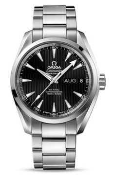 Omega Aqua Terra Annual Calendar 39mm Mens watch, model number - 231.10.39.22.01.001, discount price of £4,510.00 from The Watch Source