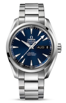 Omega Aqua Terra Annual Calendar 39mm Mens watch, model number - 231.10.39.22.03.001, discount price of £5,040.00 from The Watch Source