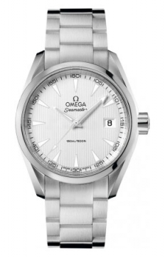 Omega Aqua Terra Quartz 38.5mm Mens watch, model number - 231.10.39.60.02.001, discount price of £1,656.00 from The Watch Source