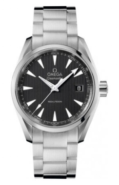 Omega Aqua Terra Quartz 38.5mm Mens watch, model number - 231.10.39.60.06.001, discount price of £1,656.00 from The Watch Source