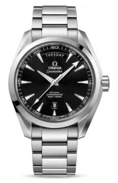 Omega Aqua Terra 150m Co-Axial Day Date Mens watch, model number - 231.10.42.22.01.001, discount price of £4,190.00 from The Watch Source