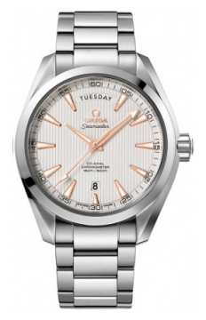 Buy this new Omega Aqua Terra 150m Co-Axial Day Date 231.10.42.22.02.001 mens watch for the discount price of £4,788.00. UK Retailer.
