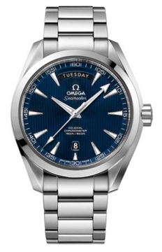 Omega Aqua Terra 150m Co-Axial Day Date Mens watch, model number - 231.10.42.22.03.001, discount price of £4,680.00 from The Watch Source