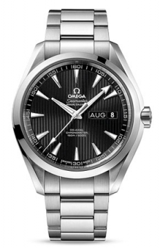 Omega Aqua Terra Annual Calendar 43mm Mens watch, model number - 231.10.43.22.01.002, discount price of £5,040.00 from The Watch Source