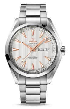 Omega Aqua Terra Annual Calendar 43mm Mens watch, model number - 231.10.43.22.02.003, discount price of £4,615.00 from The Watch Source