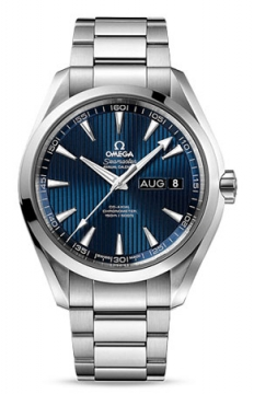 Buy this new Omega Aqua Terra Annual Calendar 43mm 231.10.43.22.03.002 mens watch for the discount price of £5,040.00. UK Retailer.