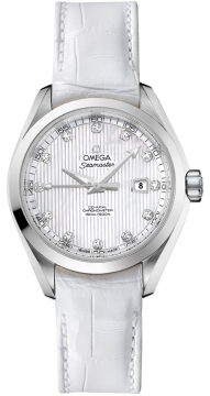 Omega Aqua Terra Ladies Automatic 34mm Ladies watch, model number - 231.13.34.20.55.001, discount price of £3,960.00 from The Watch Source