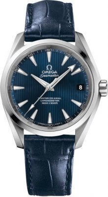 Buy this new Omega Aqua Terra 150m Master Co-Axial 38.5mm 231.13.39.21.03.001 mens watch for the discount price of £3,528.00. UK Retailer.