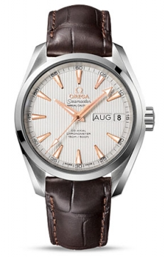 Omega Aqua Terra Annual Calendar 39mm Mens watch, model number - 231.13.39.22.02.001, discount price of £5,076.00 from The Watch Source