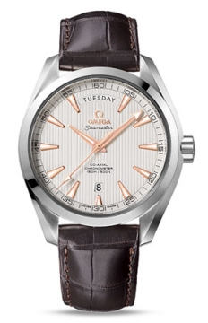 Omega Aqua Terra 150m Co-Axial Day Date Mens watch, model number - 231.13.42.22.02.001, discount price of £4,716.00 from The Watch Source