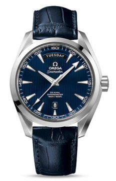 Omega Aqua Terra 150m Co-Axial Day Date Mens watch, model number - 231.13.42.22.03.001, discount price of £4,608.00 from The Watch Source