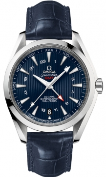 Omega Aqua Terra 150m GMT Mens watch, model number - 231.13.43.22.03.001, discount price of £4,680.00 from The Watch Source