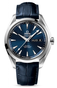 Omega Aqua Terra Annual Calendar 43mm Mens watch, model number - 231.13.43.22.03.002, discount price of £4,454.00 from The Watch Source