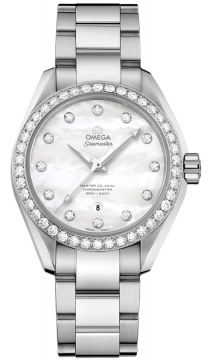 Buy this new Omega Aqua Terra 150m Master Co-Axial 34mm 231.15.34.20.55.002 ladies watch for the discount price of £8,280.00. UK Retailer.