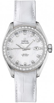 Omega Aqua Terra Ladies Automatic 34mm Ladies watch, model number - 231.18.34.20.55.001, discount price of £7,095.00 from The Watch Source