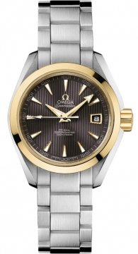 Omega Aqua Terra Ladies Automatic 30mm Ladies watch, model number - 231.20.30.20.06.004, discount price of £3,645.00 from The Watch Source