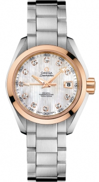 Omega Aqua Terra Ladies Automatic 30mm Ladies watch, model number - 231.20.30.20.55.003, discount price of £4,968.00 from The Watch Source