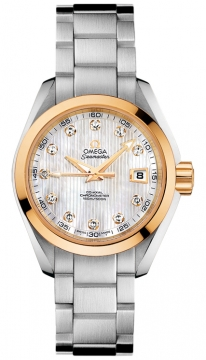 Omega Aqua Terra Ladies Automatic 30mm Ladies watch, model number - 231.20.30.20.55.004, discount price of £4,450.00 from The Watch Source