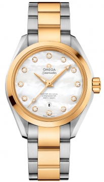 Buy this new Omega Aqua Terra 150m Master Co-Axial 34mm 231.20.34.20.55.002 ladies watch for the discount price of £7,416.00. UK Retailer.