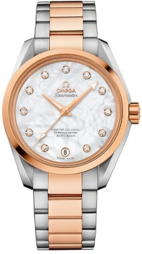 Buy this new Omega Aqua Terra 150m Master Co-Axial 38.5mm 231.20.39.21.55.003 ladies watch for the discount price of £7,848.00. UK Retailer.
