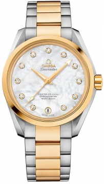 Buy this new Omega Aqua Terra 150m Master Co-Axial 38.5mm 231.20.39.21.55.004 ladies watch for the discount price of £7,848.00. UK Retailer.