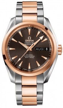 Buy this new Omega Aqua Terra Annual Calendar 39mm 231.20.39.22.06.001 mens watch for the discount price of £7,820.00. UK Retailer.