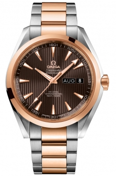 Buy this new Omega Aqua Terra Annual Calendar 43mm 231.20.43.22.06.002 mens watch for the discount price of £8,640.00. UK Retailer.