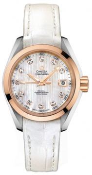 Omega Aqua Terra Ladies Automatic 30mm Ladies watch, model number - 231.23.30.20.55.001, discount price of £4,896.00 from The Watch Source