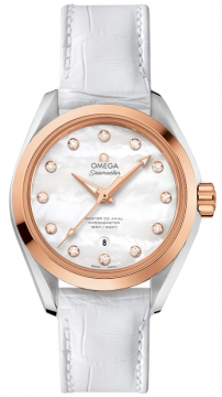 Buy this new Omega Aqua Terra 150m Master Co-Axial 34mm 231.23.34.20.55.001 ladies watch for the discount price of £5,544.00. UK Retailer.