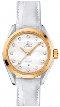 Buy this new Omega Aqua Terra 150m Master Co-Axial 34mm 231.23.34.20.55.002 ladies watch for the discount price of £5,544.00. UK Retailer.