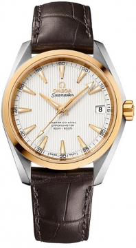 Buy this new Omega Aqua Terra 150m Master Co-Axial 38.5mm 231.23.39.21.02.002 mens watch for the discount price of £4,644.00. UK Retailer.