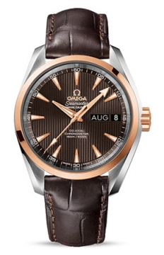 Omega Aqua Terra Annual Calendar 39mm Mens watch, model number - 231.23.39.22.06.001, discount price of £6,195.00 from The Watch Source